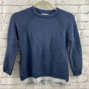 Zara boys collection with dual side zipper sweater